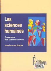 Les sciences humaines ; panorama des connaissances - Intérieur - Format classique