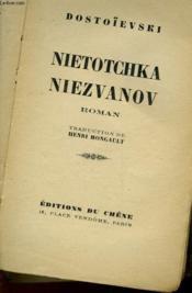 Nietotchka Niezvanov - Couverture - Format classique