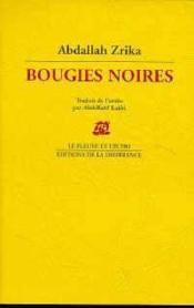 Bougies Noires - Couverture - Format classique