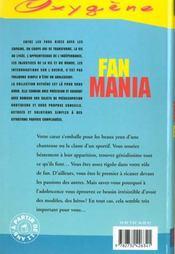 Fan Mania - 4ème de couverture - Format classique