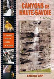 Canyons de Haute-Savoie (2e édition) - Couverture - Format classique