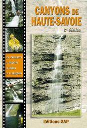 Canyons de Haute-Savoie (2e édition) - Intérieur - Format classique