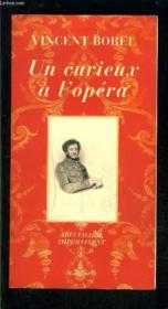 Un Curieux A L'Opera ; Abecedaire Impertinent - Couverture - Format classique