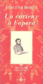 Un Curieux A L'Opera ; Abecedaire Impertinent - Intérieur - Format classique
