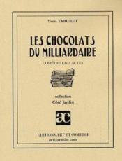 Les chocolats du milliardaire - Couverture - Format classique