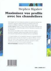Maximiser Vos Profits Avec Les Chandeliers - 4ème de couverture - Format classique