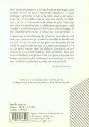 Agone 25-2001 - 4ème de couverture - Format classique