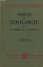 PRECIS DE ZOOLOGIE. 4e EDITION. - Couverture - Format classique