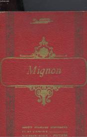 Mignon - Couverture - Format classique