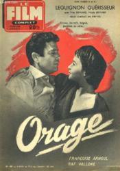 Film Complet N° 490 - Orage - Couverture - Format classique
