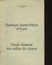Basilique Sainte-Marie D'Auch - Couverture - Format classique