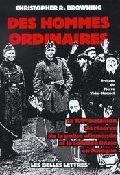 Des hommes ordinaires - Intérieur - Format classique