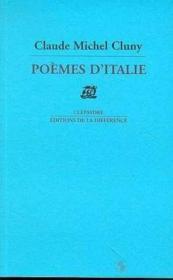 Poemes D'Italie - Couverture - Format classique