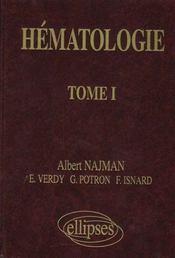 Hematologie Tome I - Intérieur - Format classique