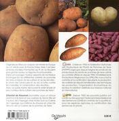 La pomme de terre - 4ème de couverture - Format classique