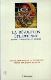 La révolution éthiopienne ; comme phénomène de société - Couverture - Format classique