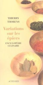 Variations Sur Les Epices - Intérieur - Format classique