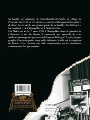 Leo Malet Revient Au Bercail - 4ème de couverture - Format classique