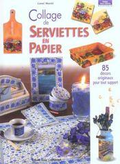 Collage De Serviettes En Papier - Intérieur - Format classique