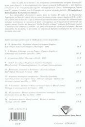 Commerces Et Services Dans Les Campagnes Fragiles ; Regions Interieures Francaises Et Iberiques - 4ème de couverture - Format classique