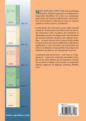 Thermique et dynamiques des structures ; exercises t.6 - 4ème de couverture - Format classique