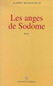 Les anges de Sodome - Couverture - Format classique