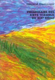 Vocabulaire Des Arts Visuels Du Xixe Siecle - Intérieur - Format classique