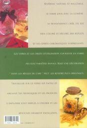 Decoration Et Peinture Sur Verre - 4ème de couverture - Format classique