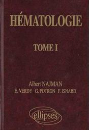 Hematologie Tome Ii - Intérieur - Format classique