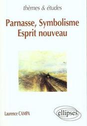 Parnasse Symbolisme Esprit Nouveau - Intérieur - Format classique