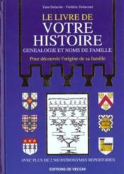 Le Livre De Votre Histoire - Couverture - Format classique