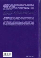 Le Livre De Votre Histoire - 4ème de couverture - Format classique
