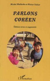 Parlons Coreen - Couverture - Format classique