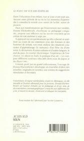 Decouvrir Le Monde A Sept Ans - 4ème de couverture - Format classique