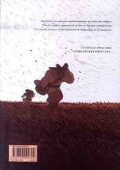 Trois ombres - 4ème de couverture - Format classique