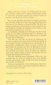 Ma Vie Mon Cri - 4ème de couverture - Format classique