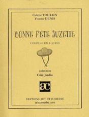 Bonne fête Suzette - Couverture - Format classique