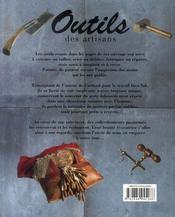 Outils d'artisans - 4ème de couverture - Format classique