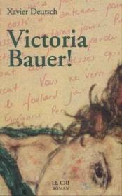Victoria Bauer - Couverture - Format classique
