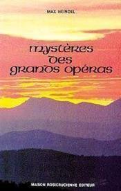 Mysteres Des Grands Operas - Couverture - Format classique