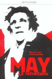 May La Refractaire - Intérieur - Format classique