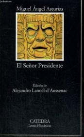 El Senor Presidente - Couverture - Format classique