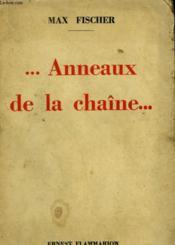 Anneaux De La Chaine. - Couverture - Format classique