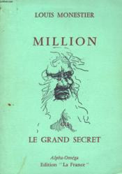 Million Ou Le Grand Secret - Couverture - Format classique