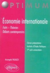 Economie Internationale Faits Theories Debats Contemporains - Intérieur - Format classique