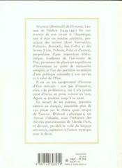 Chansonnier Francais Et Italien Broche - 4ème de couverture - Format classique