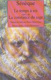 Le Temps A Soi (1ere Ed) - Intérieur - Format classique