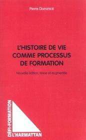 L'histoire de vie comme processus de formation - Intérieur - Format classique