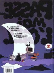 Passe-moi l'ciel t.2 ; flammes fatales - 4ème de couverture - Format classique