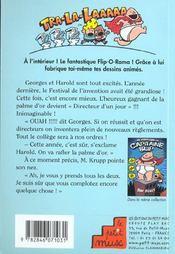 Capitaine Slip T.2 ; L'Attaque Des Toilettes Parlantes - 4ème de couverture - Format classique